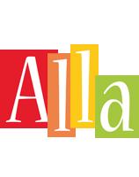 Alla colors logo