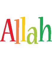 Allah birthday logo