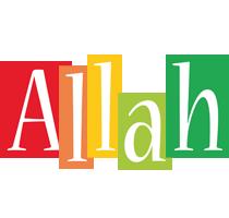 Allah colors logo