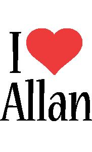 Allan i-love logo