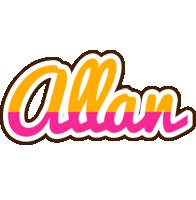 Allan smoothie logo