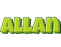Allan summer logo