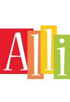 Alli colors logo