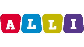Alli kiddo logo