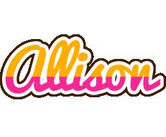Allison smoothie logo