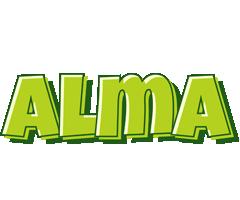 Alma summer logo