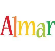 Almar birthday logo