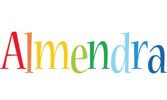 Almendra birthday logo