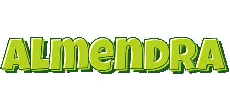 Almendra summer logo