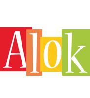 Alok colors logo