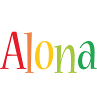 Alona birthday logo