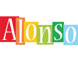 Alonso colors logo