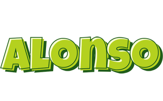 Alonso summer logo
