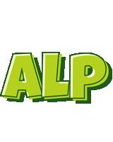 Alp summer logo