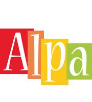 Alpa colors logo