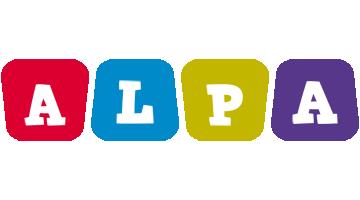 Alpa kiddo logo