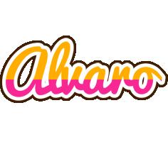 Alvaro smoothie logo