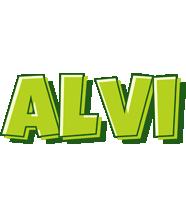 Alvi summer logo