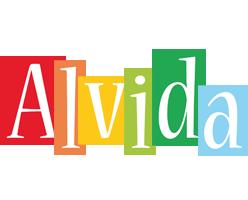 Alvida colors logo