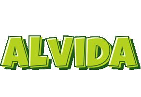 Alvida summer logo