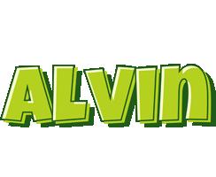 Alvin summer logo