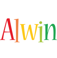 Alwin birthday logo