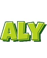 Aly summer logo