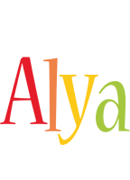 Alya birthday logo
