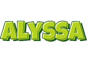Alyssa summer logo