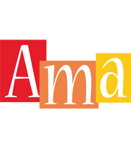 Ama colors logo