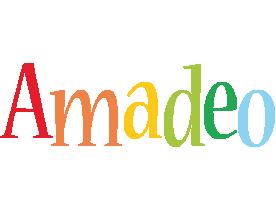 Amadeo birthday logo