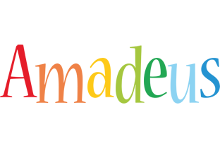 Amadeus birthday logo