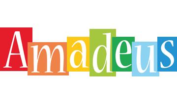 Amadeus colors logo