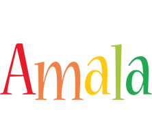 Amala birthday logo