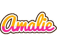Amalie smoothie logo