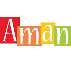 Aman colors logo