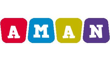 Aman kiddo logo