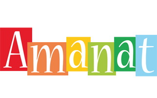 Amanat colors logo