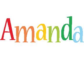 Amanda birthday logo