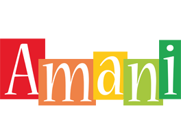 Amani colors logo