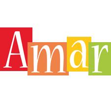 Amar colors logo