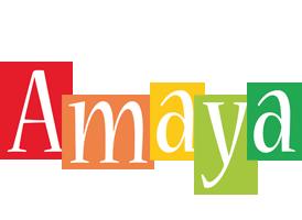 Amaya colors logo