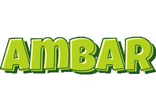 Ambar summer logo