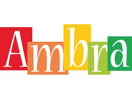 Ambra colors logo