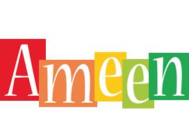 Ameen colors logo