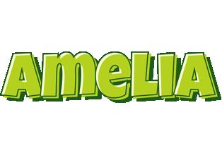 Amelia summer logo