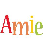 Amie birthday logo