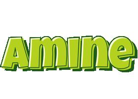 Amine summer logo