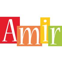 Amir colors logo