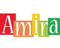 Amira colors logo
